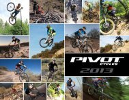 Download our 2013 catalog here - Pivot Cycles
