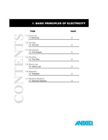 Modern Anixter Wire Catalog Composition - Electrical Diagram Ideas ...