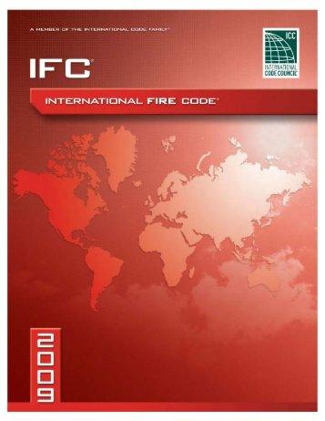 International Fire Code (IFC-2009).pdf - Ironwarrior.org