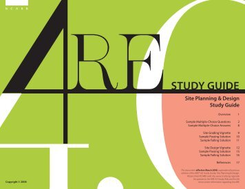 STUDY GUIDE - NCARB