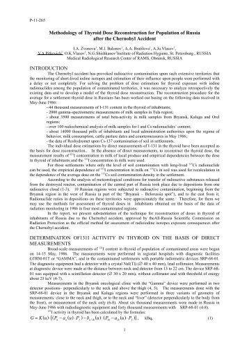 1 - International Radiation Protection Association