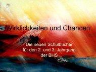Wirklichkeiten und Chancen - IRPB-Salzburg