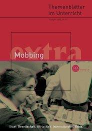 Themenblätter im Unterricht - Mobbing - Institut für ...