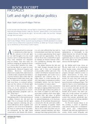 Left and right in global politics - Institute for Research on Public Policy