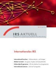 Download PDF - Institut für Regionalentwicklung und Strukturplanung