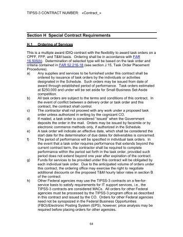 CioSp Conformed Contract  Hp Enterprise Services Microsites