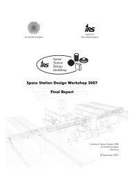 SSDW 2007 Final Report - IRS - Universität Stuttgart