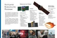 Stuttgarter Kleinsateliten-Programm Faltblatt (pdf, deutsch, farbig)