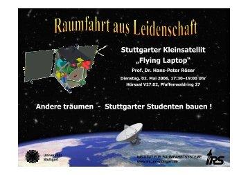 Flying Laptop - IRS - Universität Stuttgart