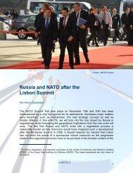 La Russie et l'OTAN après le Sommet de Lisbonne EN