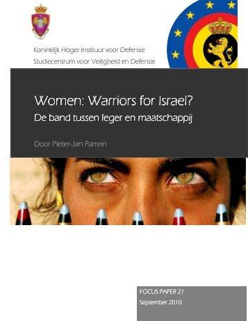 Women: Warriors for Israel?