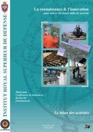 Bilan activités 2010 FR - Final version 14 Dec - KHID