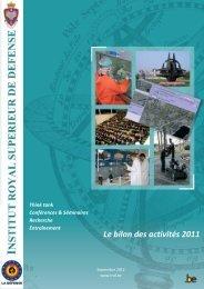 Le bilan des activités 2011 - KHID