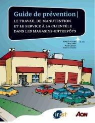 Guide de prévention - Le travail de manutention et le service à ... - Irsst
