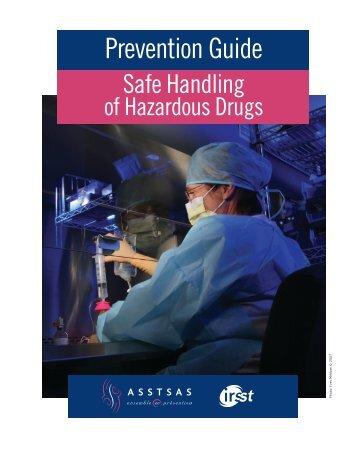 Prevention Guide - Safe Handling of Hazardous Drugs - Irsst