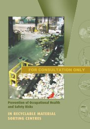 Prevention of occupational health and safety risks in ... - Irsst