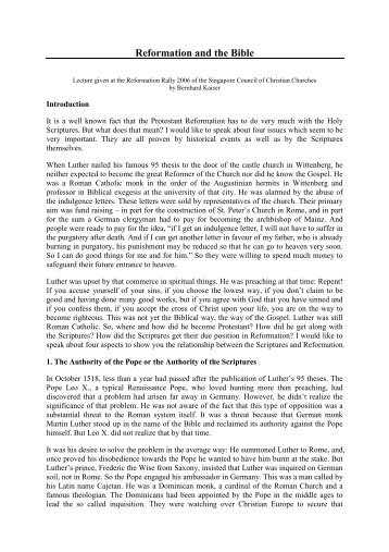 reformation dbq The following task is based on the accompanying documents 1-6 some documents have been edited for this exercise the task is designed to test your ability.