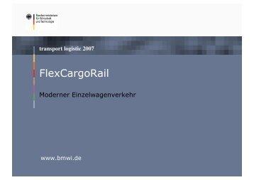FlexCargoRail - Institut für Regelungstechnik (IRT) der RWTH Aachen