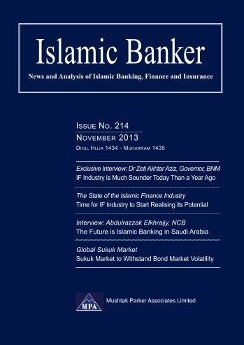 Islamic Banker November 2013