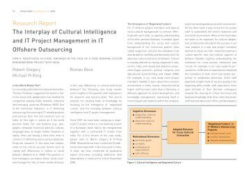 cultural intelligence feedback report Cultural intelligence, or cq, is the ability to make sense of unfamiliar contexts and then blend in it has three components—the cognitive, the physical, and the emotional/motivational.