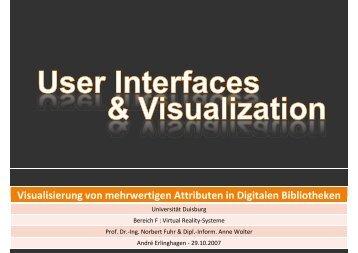 Visualisierung von mehrwertigen Attributen in Digitalen Bibliotheken ...