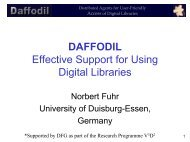 Distributed Agents for User-Friendly Access of Digital Libraries