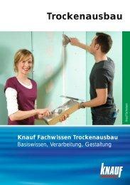 Knauf Zubehör für den trockenen Innenausbau - MODERN BAUEN