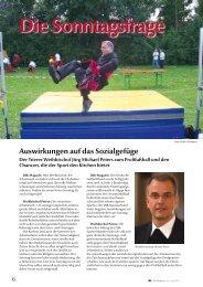 Die Sonntagsfrage - DJK Sportverband