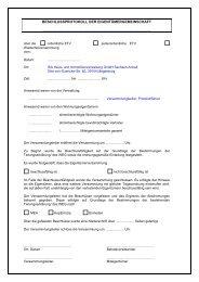 beschlussprotokoll der eigentümergemeinschaft - ISA Haus