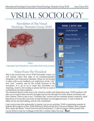 Visual Sociology June2011 - International Sociological Association