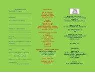 Registration Form Name of the Participant Designation______
