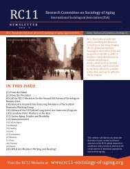 rC11 - International Sociological Association