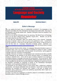Download - International Sociological Association