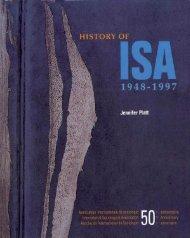 History of ISA: 1948-1997 - International Sociological Association
