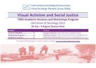 Visual Activism and Social Justice TG05 Academic ... - INCLUIR