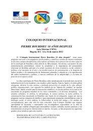 coloquio internacional pierre bourdieu 10 años despues
