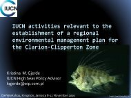Presentation - International Seabed Authority