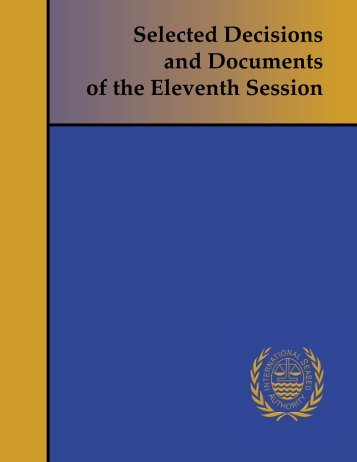 Selected Decisions and Documents of the Eleventh Session