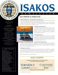 Winter 2004 Newsletter - ISAKOS