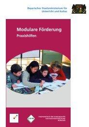 Modulare Förderung - Bayerische Mittelschule