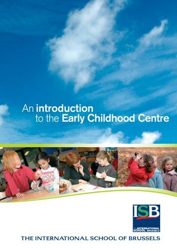Early Childhood Centre - International School of Brussels