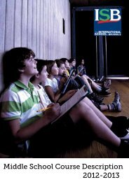 Download the Middle School Course Description and Curriculum ...