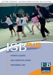 here - International School of Brussels