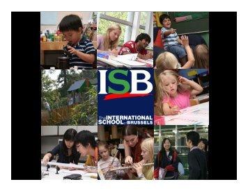 Community - International School of Brussels