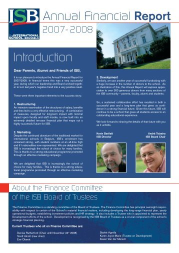 Mise en page 1 - International School of Brussels