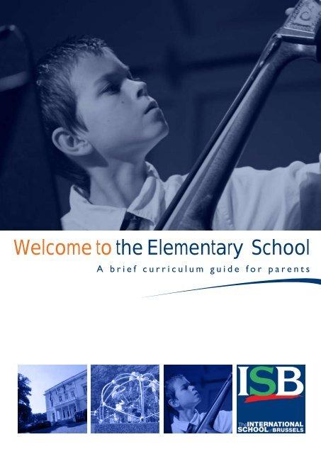 ES Curriculum Guide - International School of Brussels