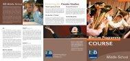 ISB elective prog MS-06 - International School of Brussels
