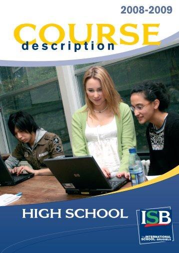 Mise en page 1 - International School of Brussels