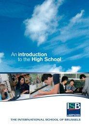 ISB_Broch_A4_HS_09-:Mise en page 1 - International School of ...