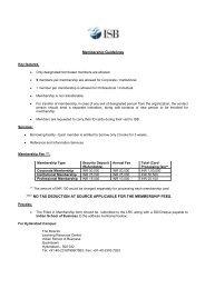 External Membership Guidelines - Indian School of Business